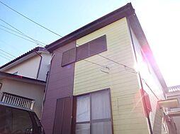 リバーサイド早稲田[1階]の外観
