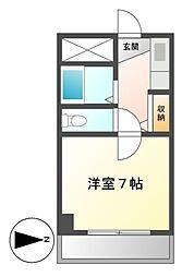 サンシャイン福成[5階]の間取り