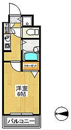 メゾンド・プレサージュ[4階]の間取り