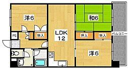 シーガルハイツ[5階]の間取り