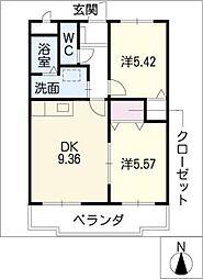 BIGBENRESIDENSE[3階]の間取り
