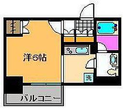 ユリカロゼ梅島[9階]の間取り
