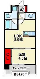 Apartment 3771[303号室]の間取り