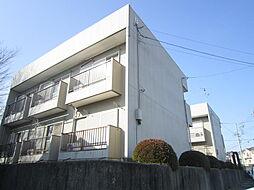茨城県ひたちなか市松戸町2丁目の賃貸アパートの外観