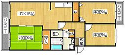 パストラルII[3階]の間取り