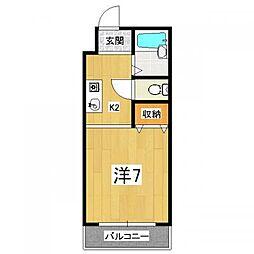 メゾンドール21[2階]の間取り