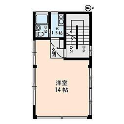 樽井ビル[3階]の間取り