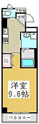 ファインハイム元郷[2階]の間取り