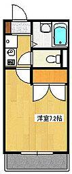 インペリアル湘南I[304号室]の間取り