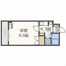 エルシー24[2階]の間取り