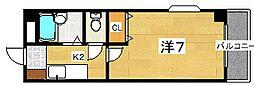 マルエスマンション[2階]の間取り