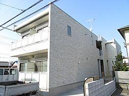 千葉県千葉市花見川区花園1丁目の賃貸アパートの外観