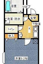 Annex121[2階]の間取り