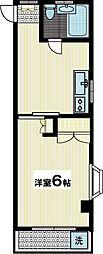 M・Hバジラーマンション[3階]の間取り