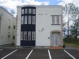 北海道札幌市手稲区曙十二条2丁目の賃貸アパートの外観