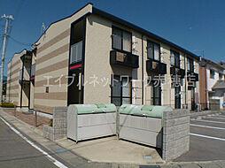 兵庫県赤穂市上仮屋南の賃貸アパートの外観