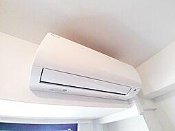 フェリシエ住吉本町のエアコンも完備しております。