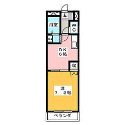 メルクーリオ[2階]の間取り