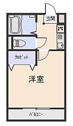 エレンシア[3階]の間取り
