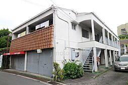 上新田アパートメント[2階]の外観
