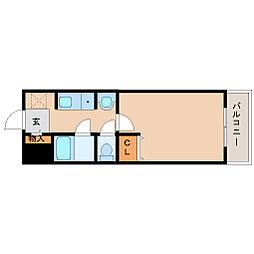 ステラハウス10[3階]の間取り