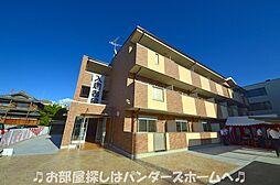 大阪府枚方市田口2丁目の賃貸マンションの外観