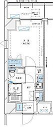 レジデンツア西神奈川[405号室号室]の間取り