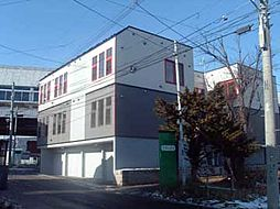 北海道札幌市南区真駒内東町1丁目の賃貸アパートの外観