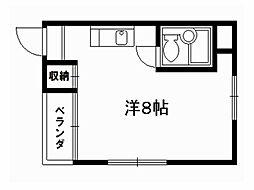 グレースヒサ[2階]の間取り