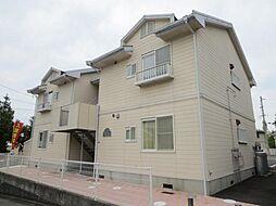 広島県東広島市八本松東6丁目の賃貸アパートの外観