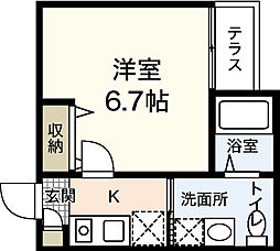 草津東フットパス[1階]の間取り