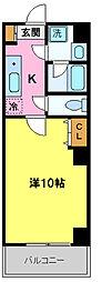 KS HOYO[6階]の間取り