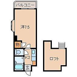 プルミエールメゾンクロダ[1階]の間取り