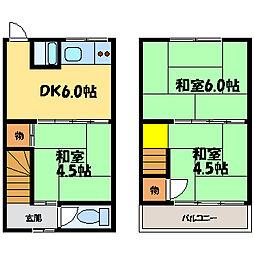 [一戸建] 滋賀県大津市滋賀里2丁目 の賃貸【/】の間取り