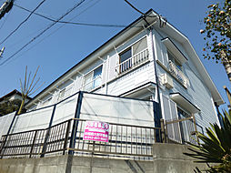 神奈川県横浜市港北区篠原台町の賃貸アパートの外観