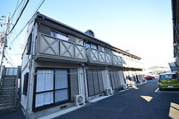 栃木県宇都宮市城東2丁目の賃貸アパートの外観