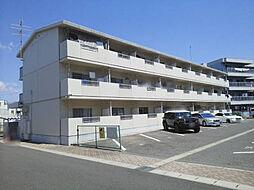 愛知県安城市池浦町池田上の賃貸マンションの外観