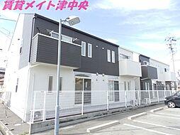 三重県津市長岡町の賃貸アパートの外観