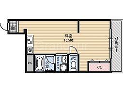 ボヌール守口[4階]の間取り