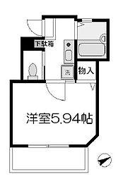 ロッシェル2番館1号棟[2階]の間取り