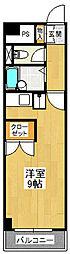 パイン・リバーI[2階]の間取り