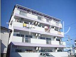 コーポレッドハット[3階]の外観