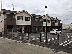 滋賀県栗東市上鈎の賃貸マンションの外観
