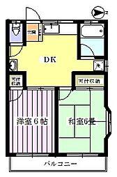 敬愛レジデンス3号棟[1階]の間取り