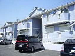 埼玉県久喜市西大輪3丁目の賃貸アパートの外観