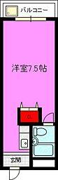 富田マンション[4階]の間取り