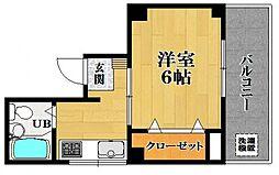 宮崎ビル[4階]の間取り