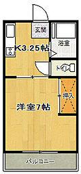 第2ことぶきコーポ[1階]の間取り