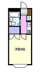 クレアール茅ヶ崎2[2階]の間取り