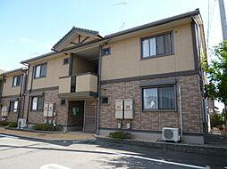 岡山県倉敷市連島中央5の賃貸アパートの外観